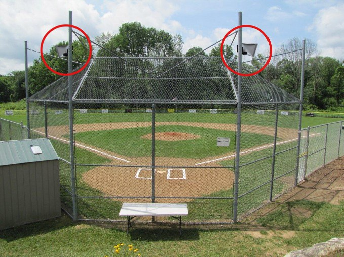 Baseball Field Outdoor Pa Public Address Sound System