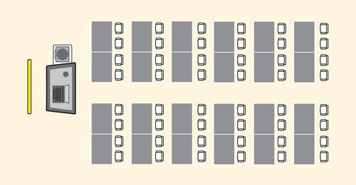 Z Arrangement Classroom Design Definition ~ Classroom seating arrangements with desks nice houzz