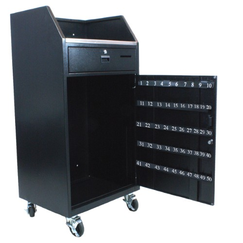 Portable Valet Podium 50 To 100 Key Hook Configurations