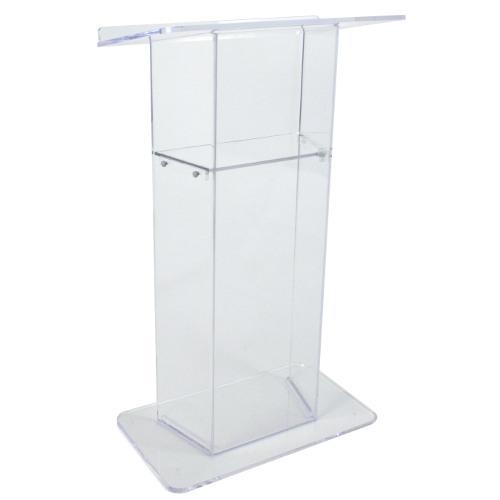 Sn3050 Clear Acrylic Lectern Clear Podium Church Lectern