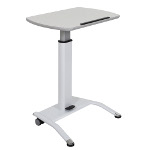 Pneumatic Height Adjustable Lectern Desk