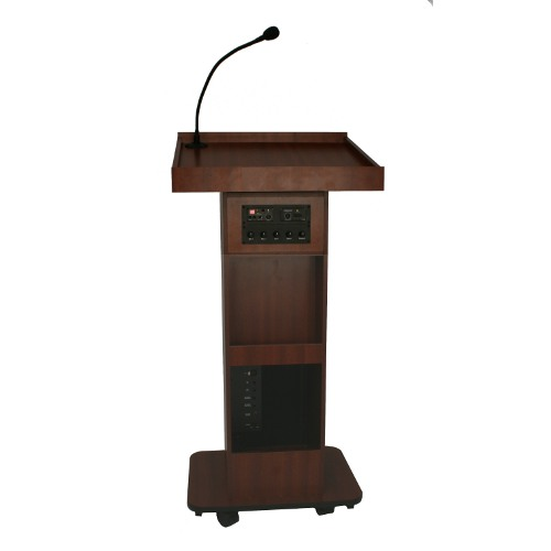 Executive Column Lectern Wooden Podiums And Sound Lectern
