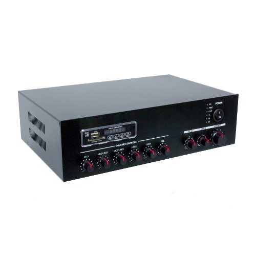 Amplivox 7 Channel Mixeramplifier With Bluetooth